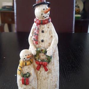 Snowmam&snowboy
